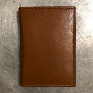 Wilsons Leather Cordovan leather card case